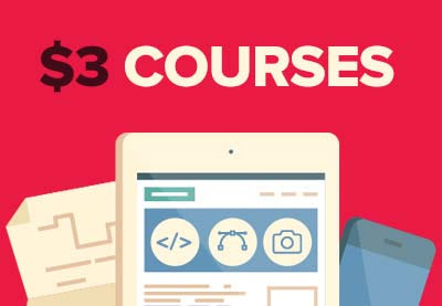 They're Back: $3 Video Courses! - Envato Tuts+ Code Article