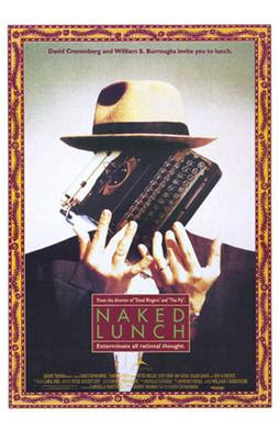 Naked Lunch movie poster