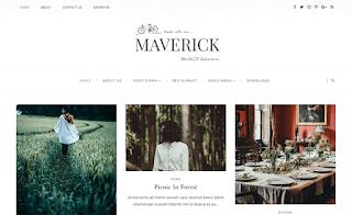 Maverick Grid Blogger Template
