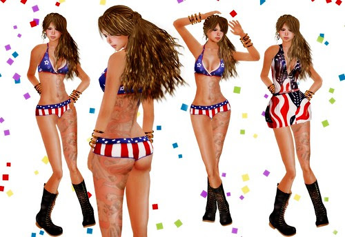 ::HH:: Hucci 4th of July Short & Dress Sets 2010