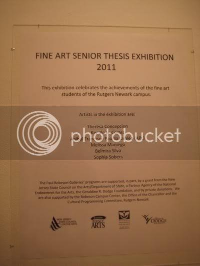Shameful Designs: Rutgers Newark Fine Art Senior Thesis Show