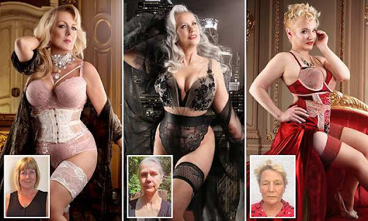 Women aged up to 78 dazzle in pin-up girl shoot