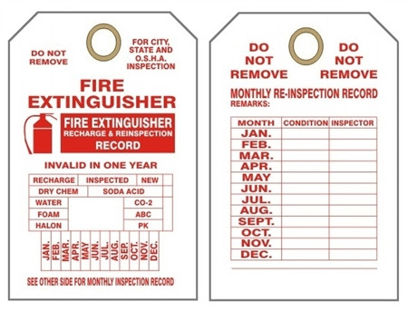 76 FIRE EXTINGUISHER EXPIRATION