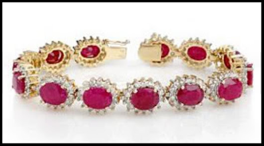 Diamond Tennis Bracelets 4.00 ct 18k solid gold ruby Hot Deal