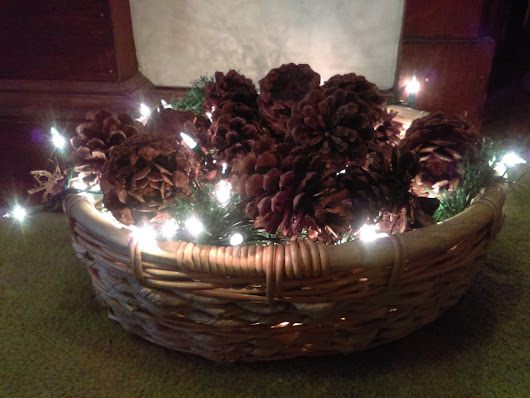 Pinterest Projects: After Christmas Decoration