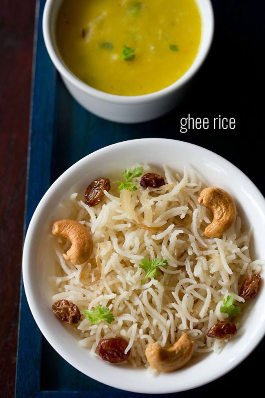 ghee rice recipe, how to make ghee rice recipe | one pot recipe of ghee rice