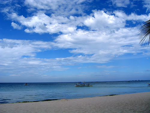 Clouds over White Beach, Boracay