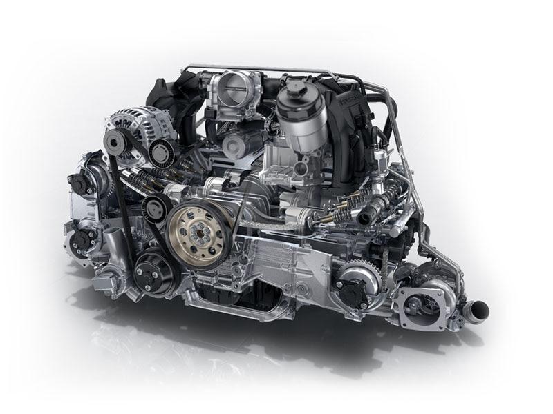 Hasil gambar untuk Porsche 911 Cabriolet engine