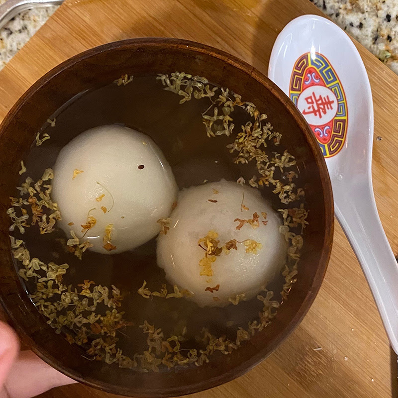 In the Kitchen (At Home): Tang Yuan
