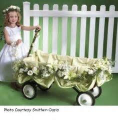 Amazing wedding wagon great for pulling younger kids