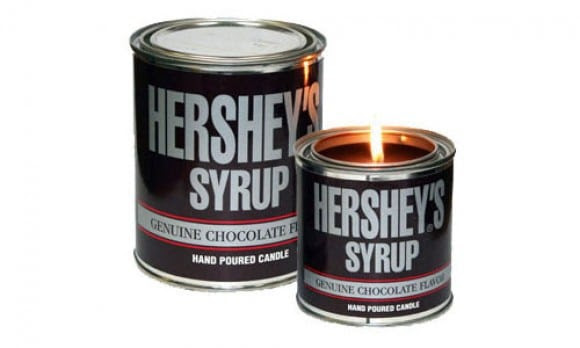Hershey's Chocolate Syrup Scented Candle - GeekExtreme