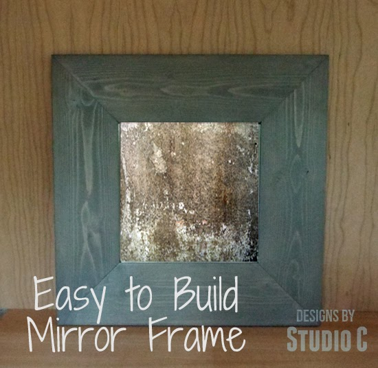 Easy To Build Mirror Frame {Guest Post} : The Interior Frugalista ...