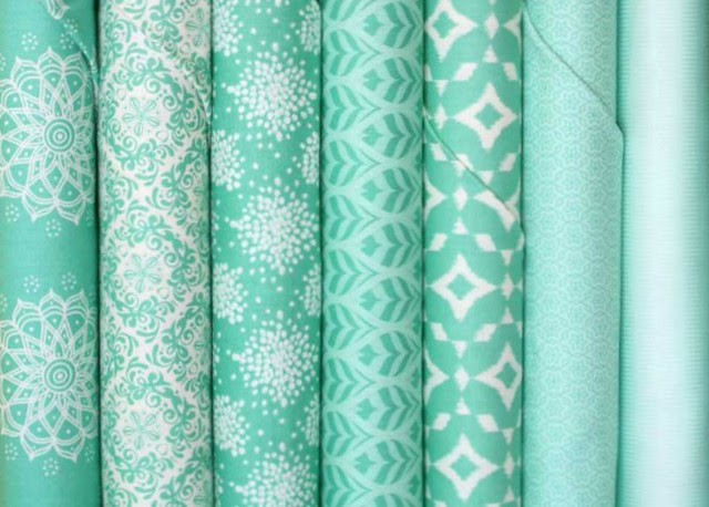 A Mint To BE In Mint Giveaway -- for Friday's Fabric GIveaway with The Intrepid Thread!!