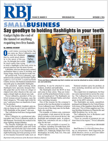 Rochester Business Journal SMALL BUSINESS