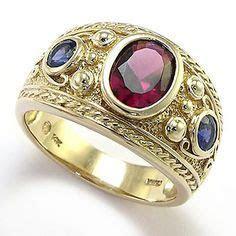 Men's garnet ring 14k gold   Garnet   Pinterest   Rings