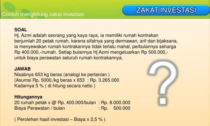 Contoh Soal Zakat Pertanian