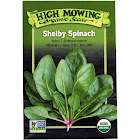 High Mowing Organic Seeds - Organic Shelby Spinach Seeds - 1 Packet