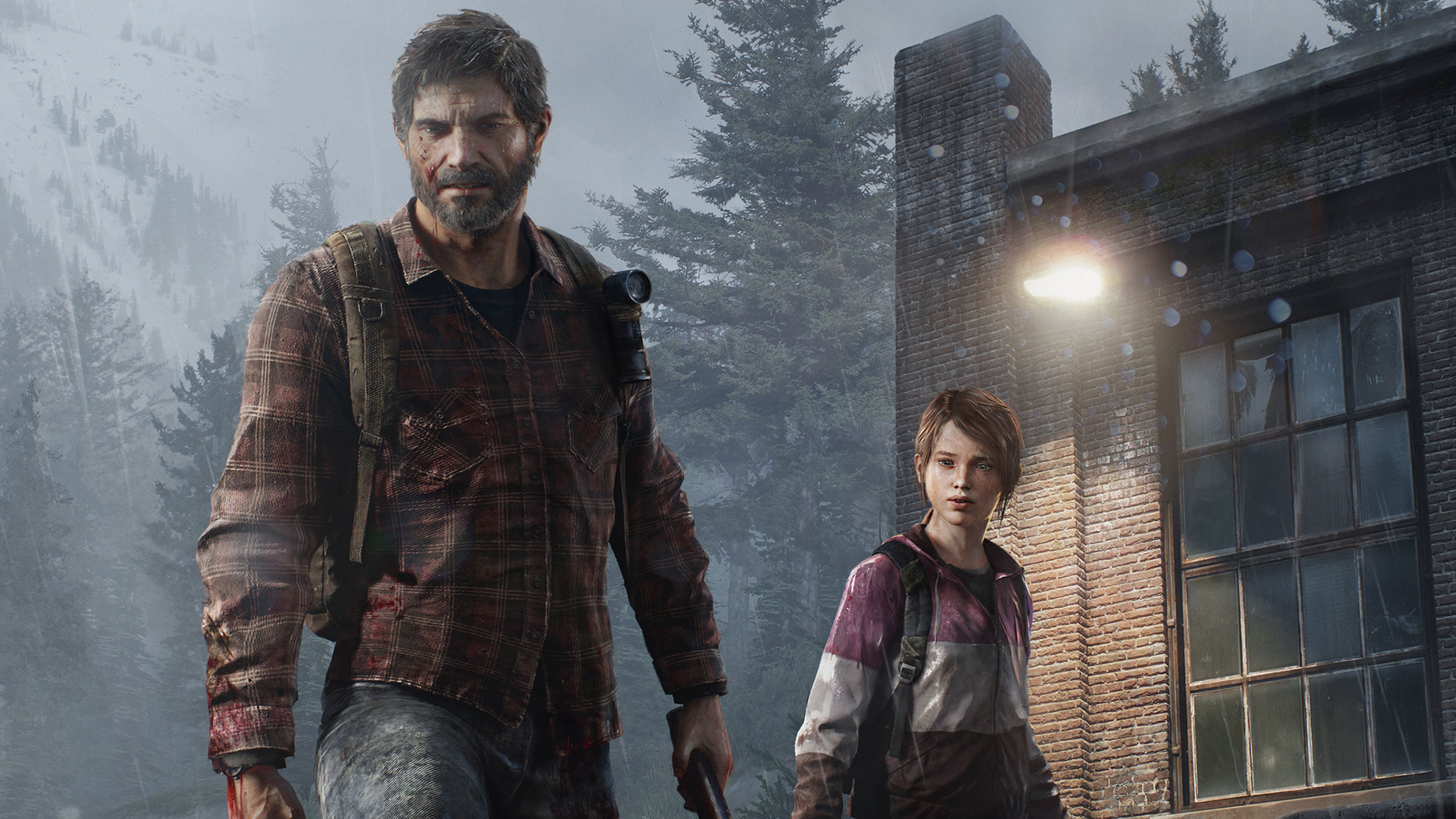 Video Games The Last Of Us Joel Ellie Wallpapers Hd Desktop