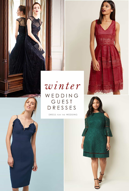 Winter Wedding Guest Dresses | Dress for the Wedding
