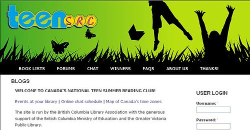 Teen Summer Reading Club