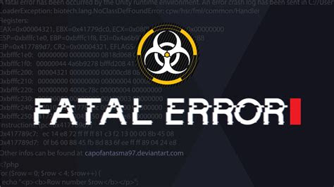 fatal error background  capofantasma  deviantart