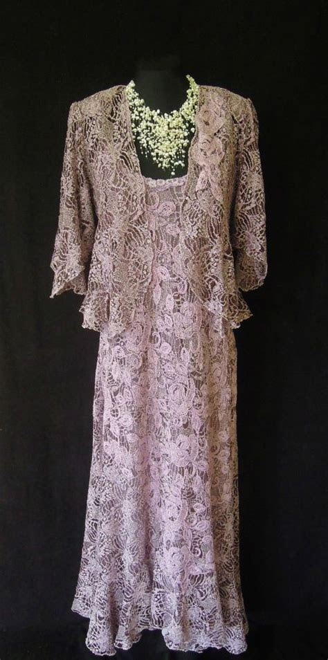 ANN BALON Dress and Jacket Size 14 16 Wedding Outfit Suit