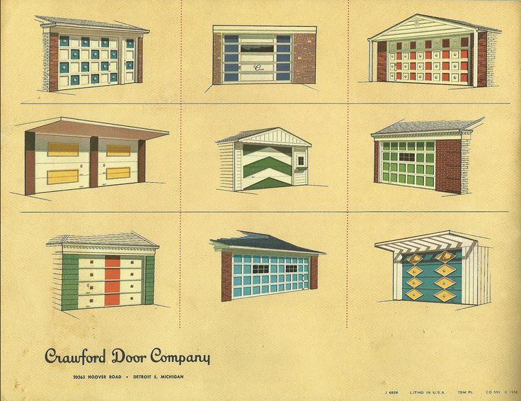 mid century modern garage doors :) | IF YOU BUILD IT ...