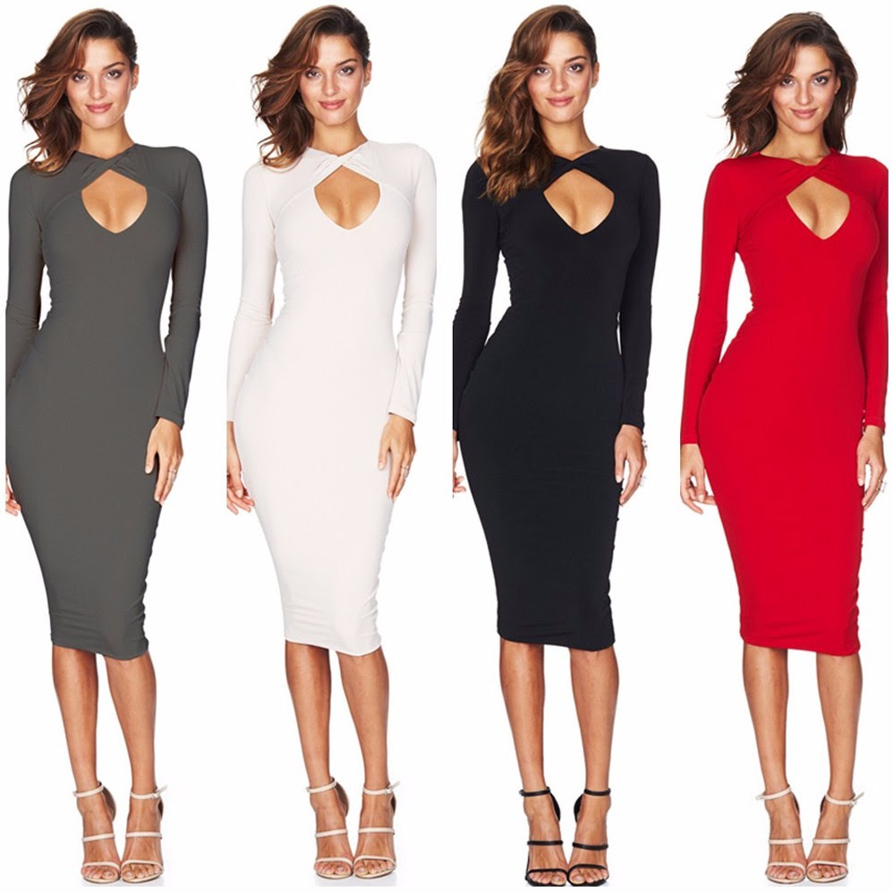 long bodycon dresses plus size black and gray