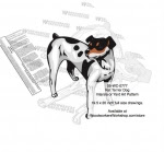 Rat Terrier Dog Intarsia - Yard Art Woodworking Pattern - fee plans from WoodworkersWorkshop® Online Store - Rat Terrier Dogs,pets,animals,dogs,breeds,instarsia,yard art,painting wood crafts,scrollsawing patterns,drawings,plywood,plywoodworking plans,woodworkers projects,workshop blueprints
