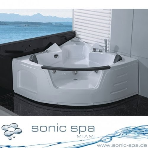 eckbadewanne original sonic spa kailua whirlpool badewanne whirlwanne eckbadewanne 2 personen. Black Bedroom Furniture Sets. Home Design Ideas