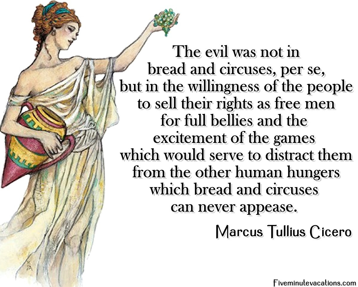 Image result for bread and circuses
