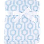 Luvable Friends Baby Boys' Coral Fleece Blanket, Choose Your Color, Blue