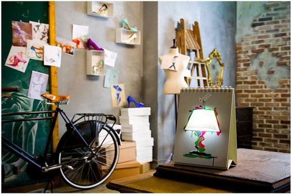 Bedroom led wallpaper ideas creative led table lamp - bedroom ...