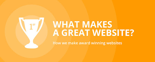 How We Make Award Winning Websites