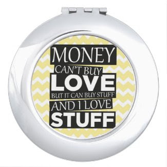 Money Quote Travel Mirrors