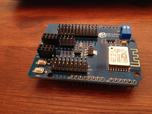 Connecting the ESP8266 chip to your network