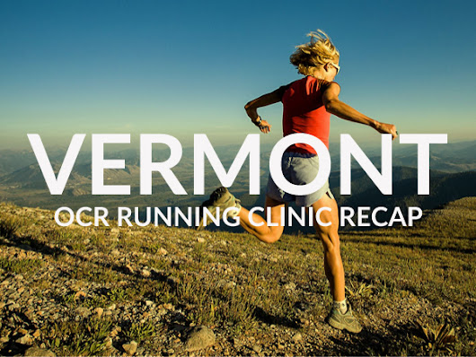 OCR Running Clinic in Vermont – Recap