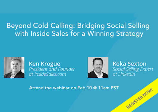 Beyond Cold Calling: Bridging Social Selling with Inside Sales for A Winning Strategy