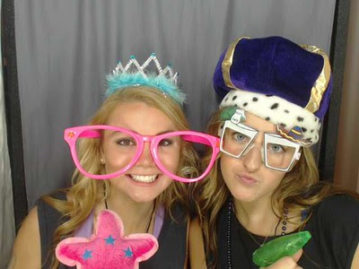 Photobooth for sorority party