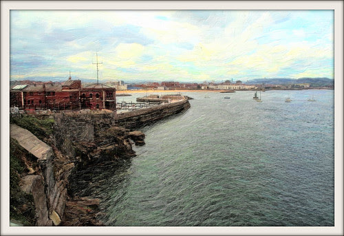 Gijón desde Santa Catalina
