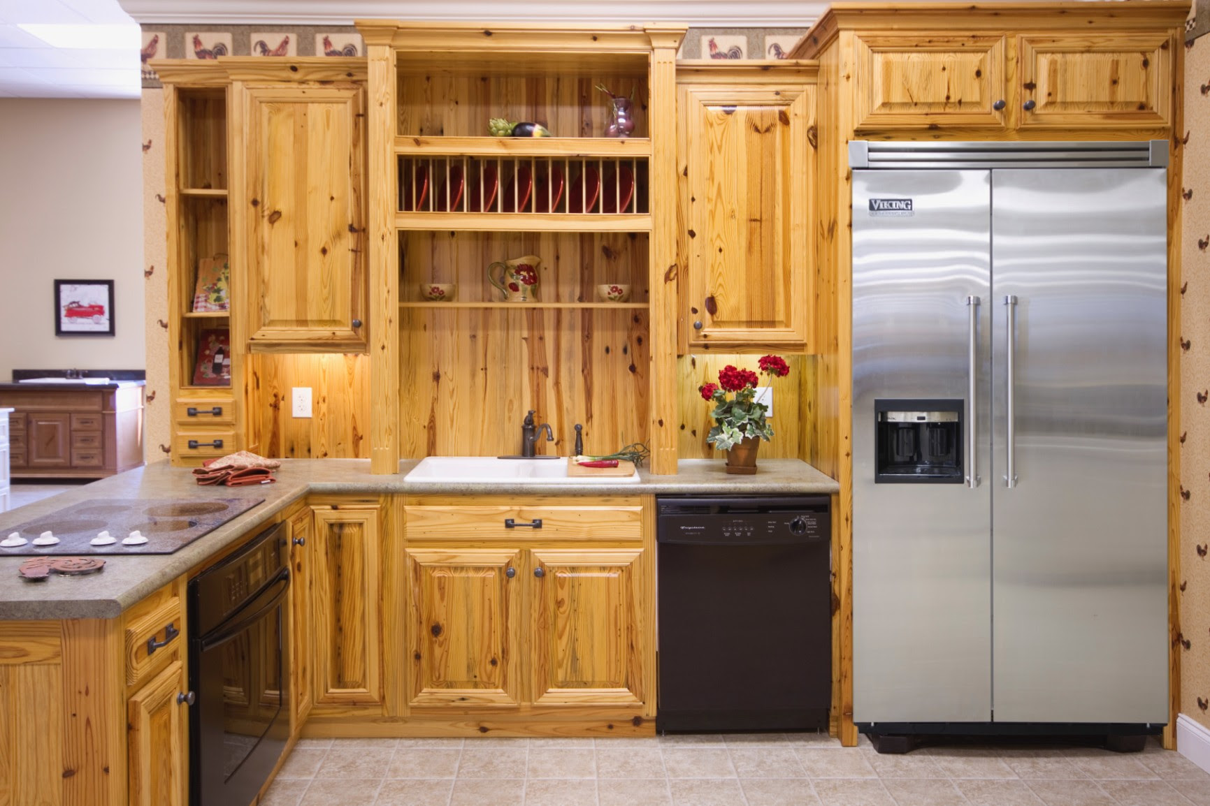Pine Kitchens - Wood Hollow Cabinets