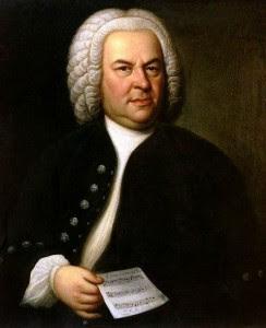 bach y la musica Johann_Sebastian_Bach foto con partitura