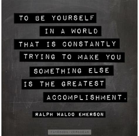 Emerson Self Reliance Individualism Quotes