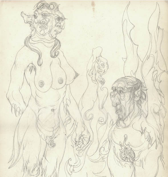Austin Osman Spare, drawing 15