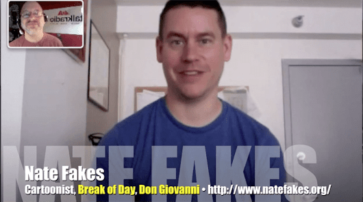 Nate Fakes? Only a cartoonist could be named that, right? VIDEO
