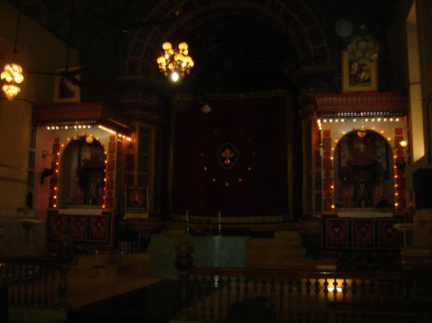 nadakashala in kadamattom church