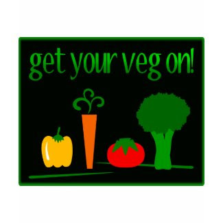 Get Your Veg On! With Assorted Veggies shirt