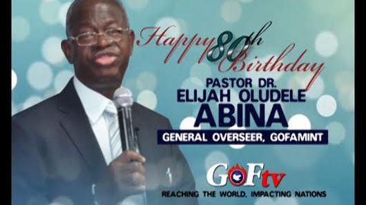 Video birthday greetings for pastor elijah abina on his 80th birthday greetings for pastor elijah abina on his 80th birthday m4hsunfo