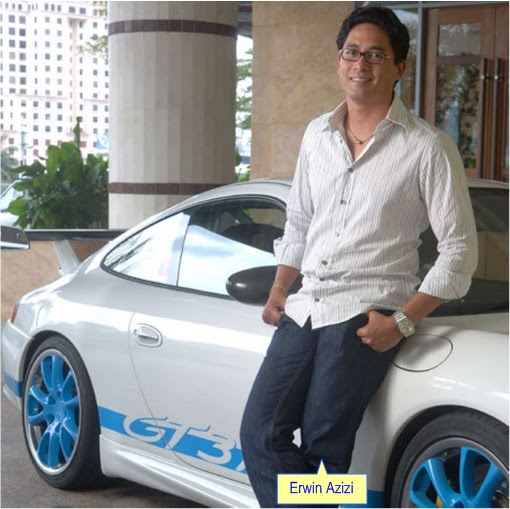 Australia Dudley International House - Erwin Azizi with Porsche