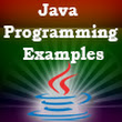 Java Example Codes and Tutorials